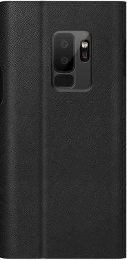 Чехол Samsung Bonnet stand, для Samsung Galaxy S9+, черный (GP-G965KDCFBIA)