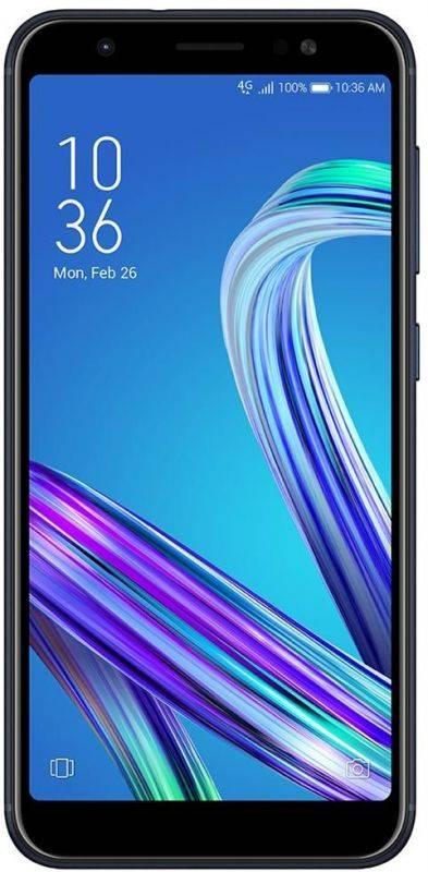 Смартфон Asus ZenFone Max M1 ZB555KL 16ГБ черный (90AX00P1-M00630) - фото 1