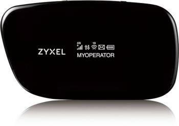 Модем 2G/3G/4G Zyxel WAH7608 USB черный (WAH7608-EU01V1F)