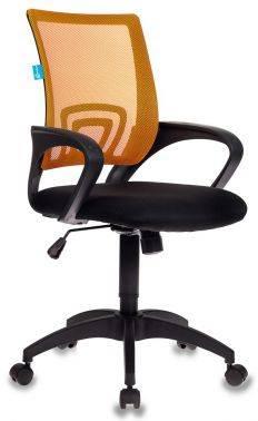 Кресло Бюрократ CH-695 оранжевый/черный (CH-695/OR/BLACK)