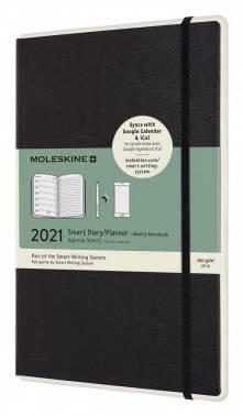 Еженедельник Moleskine Paper Tablet Smart черный (PTDHB12WN3)