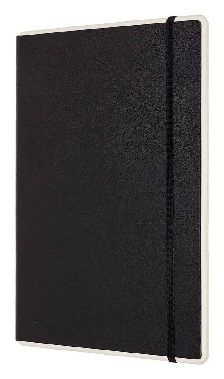 Еженедельник Moleskine Paper Tablet Smart черный (PTDHB12WN3) - фото 2