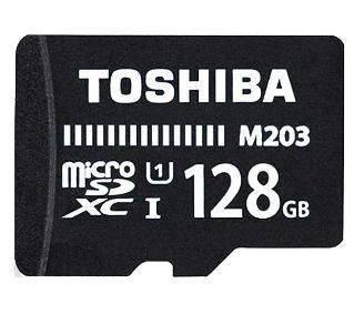Карта памяти microSDXC 128Gb Class10 Toshiba M203 (THN-M203K1280EA)