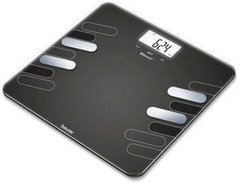 Весы напольные электронные Beurer BF600 черный (748.03)