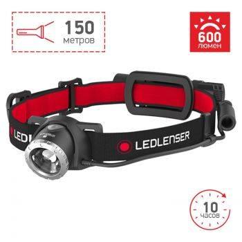 Налобный фонарь Led Lenser H8R черный (500853)