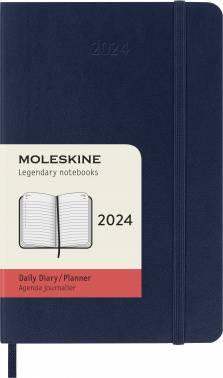 Ежедневник Moleskine CLASSIC SOFT синий сапфир (DSB2012DC2)