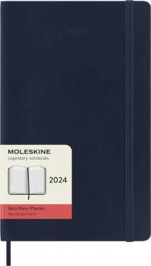 Ежедневник Moleskine Classic Soft синий сапфир (DSB2012DC3)