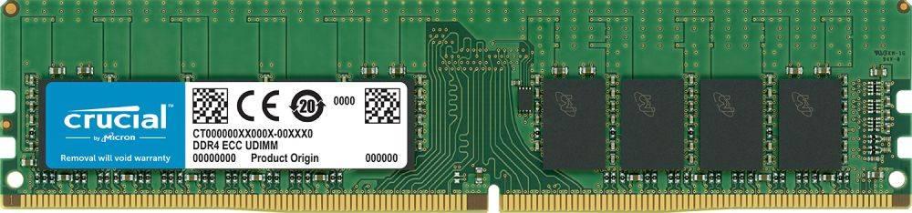 Модуль памяти DIMM DDR4 1x16Gb Crucial CT16G4WFD8266 - фото 1
