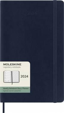 Еженедельник Moleskine Classic Soft WKNT синий сапфир (DSB2012WN3)