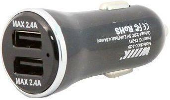 Автомобильное зар./устр. Wiiix UCC-2-20 черный