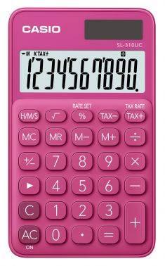Калькулятор карманный Casio SL-310UC-RD-S-EC красный