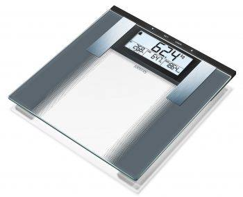 Весы напольные электронные Sanitas SBG 21 прозрачный (764.35)