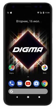Смартфон Digma Linx Trix 4G 16ГБ черный (LS5041PL)