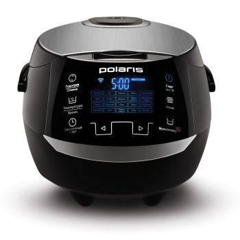 Мультиварка Polaris EVO 0225 черный/серебристый