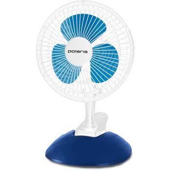 Вентилятор настольный Polaris PCF 1015B белый/синий