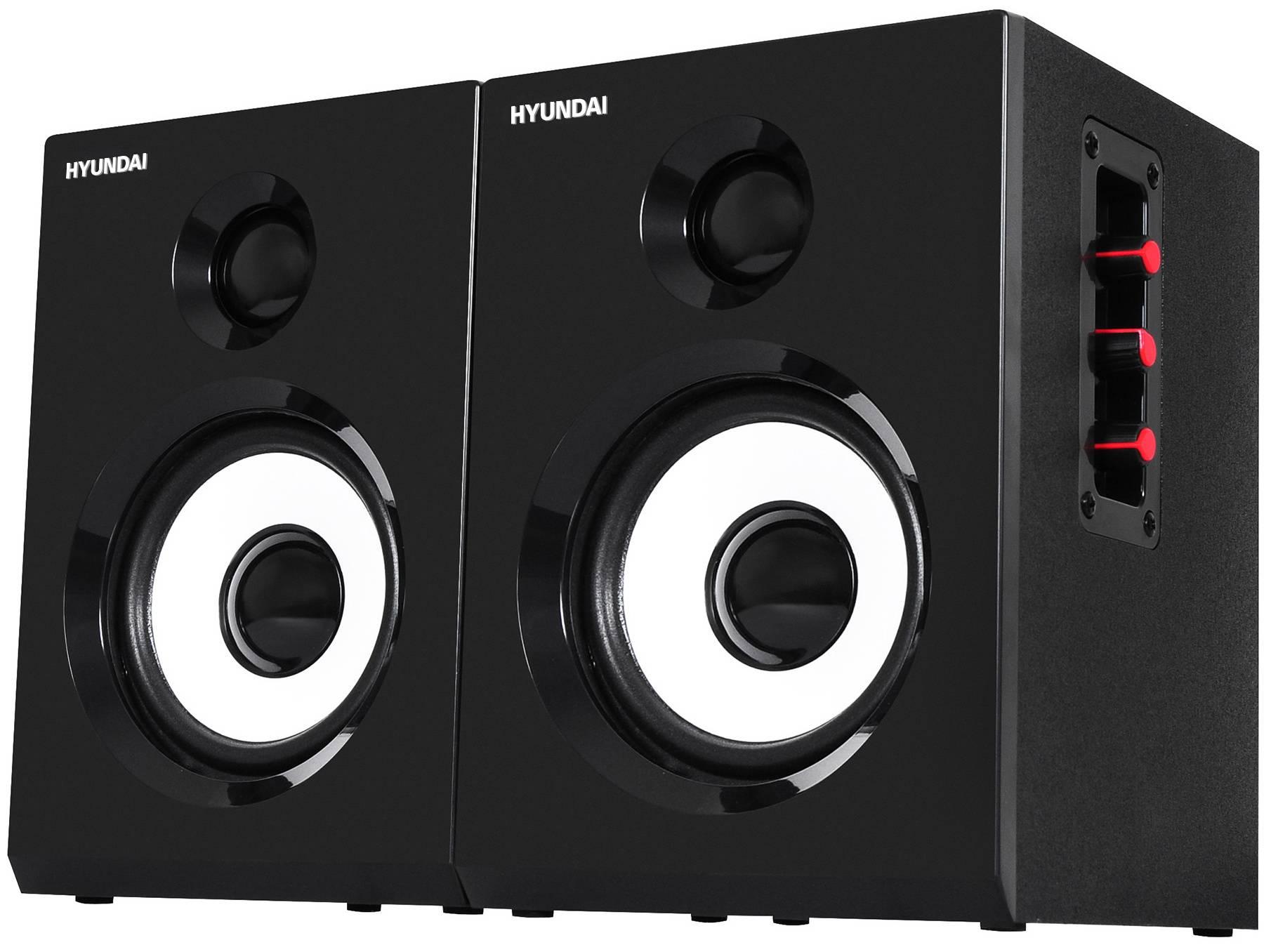 Комплект акустики Hyundai H-HA120 черный - фото 1