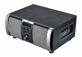 Минисистема Hyundai H-MAC120 серый