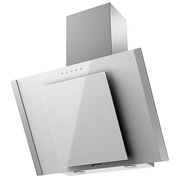 Каминная вытяжка Shindo Ostaria 60 SS/WG sensor белый/серебристый (21307) - фото 1