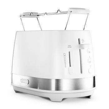 Тостер Delonghi CTLA2103.W белый (230020013)