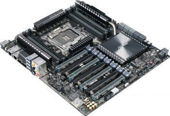 Серверная материнская плата Soc-2011 Asus X99-E-10G WS SSI CEB (90SW05Z0-M0EAY0)