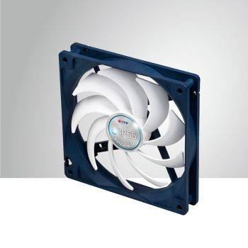 Вентилятор Titan TFD-14025H12B/KW(RB), размер 140x140x25мм