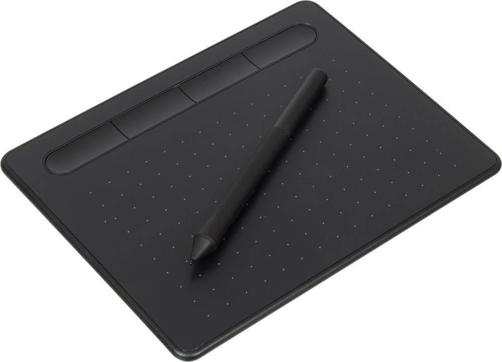 Графический планшет Wacom Intuos S CTL-4100K-N черный - фото 1