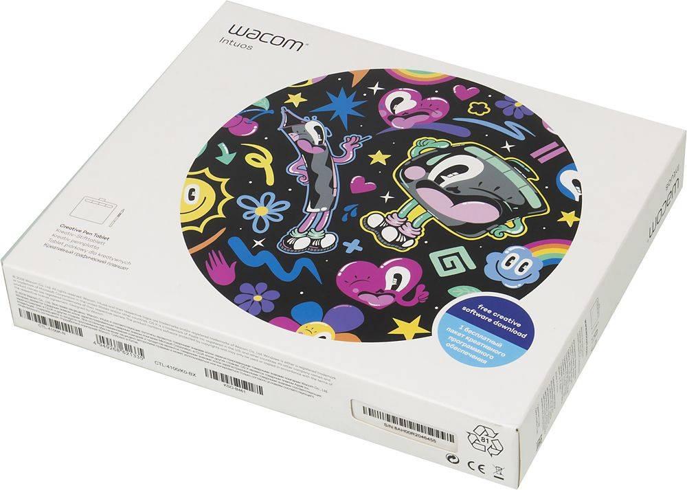 Графический планшет Wacom Intuos S CTL-4100K-N черный - фото 7