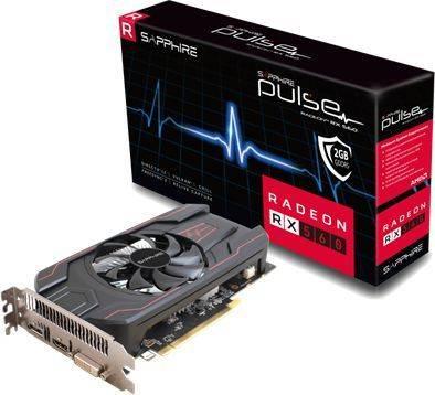 Видеокарта Sapphire PULSE RX 560 2G OC 2048 МБ (11267-22-20G) - фото 1