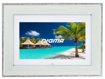 "Цифровая фоторамка 10.1"" Digma PF-105MS белый (PF105MS)"