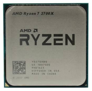 Процессор AMD Ryzen 7 2700X SocketAM4 BOX (YD270XBGAFBOX)