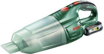 Строительный пылесос Bosch PAS 18 LI Set зеленый (06033B9002)