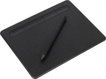 Графический планшет Wacom Intuos S Bluetooth CTL-4100WLK-N черный