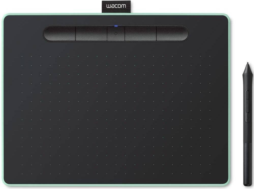 Графический планшет Wacom Intuos CTL-6100WLE-N фисташковый - фото 2