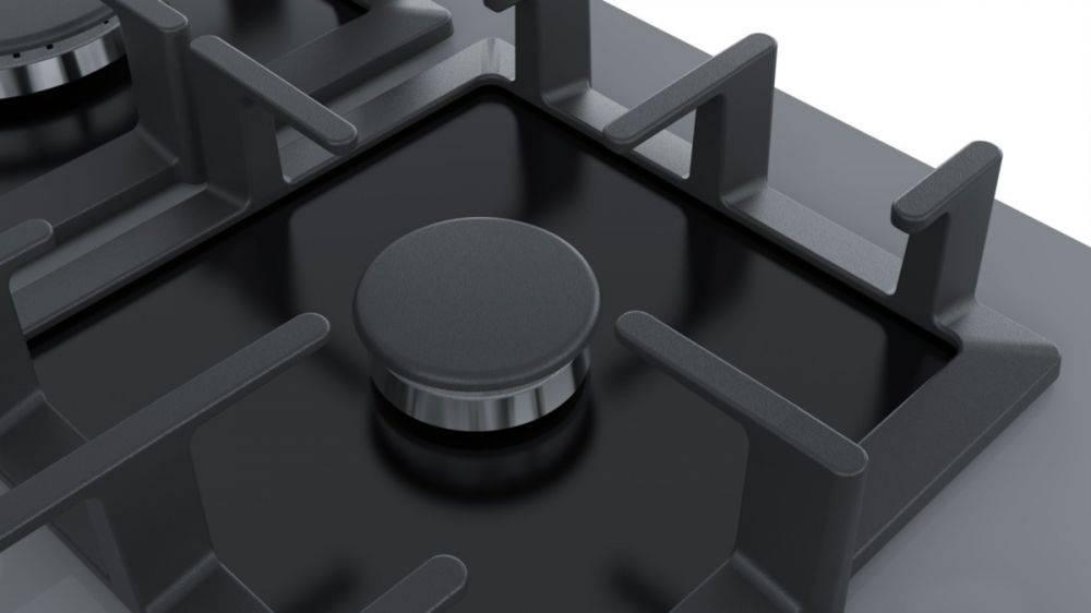 Газовая варочная поверхность Bosch PPP6A9B90R черный - фото 2