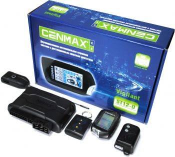 Автосигнализация Cenmax Vigilant ST-12D (VIGILANT ST12 D АВТОЗАПУСК)