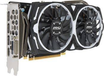 Видеокарта MSI RX 570 ARMOR 8G 8192 МБ