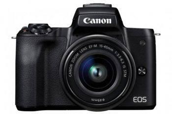 Фотоаппарат Canon EOS M50 kit черный (2680C012)