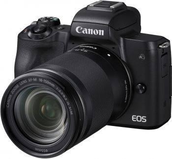 Фотоаппарат Canon EOS M50 kit черный (2680C042)