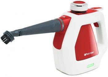 Пароочиститель ручной Kitfort КТ-918-1 красный