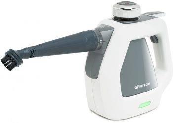 Пароочиститель ручной Kitfort КТ-918-2 серый