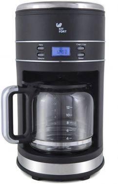 Кофеварка капельная Kitfort КТ-704-2 черный
