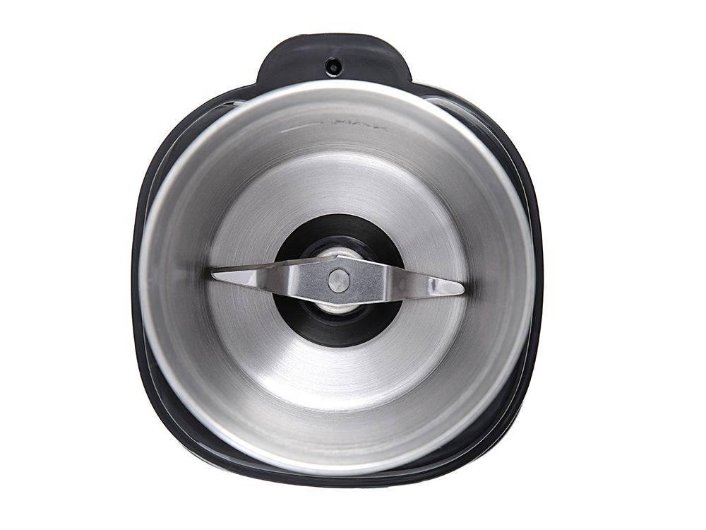Кофемолка Kitfort КТ-1315 серебристый - фото 6