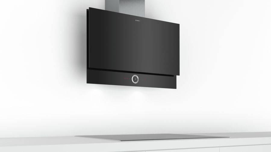 Каминная вытяжка Bosch Serie 8 DWF97RU60 черный - фото 3