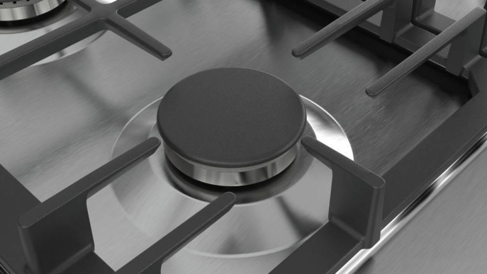 Газовая варочная поверхность Bosch PCI6A5B90R нержавеющая сталь - фото 4
