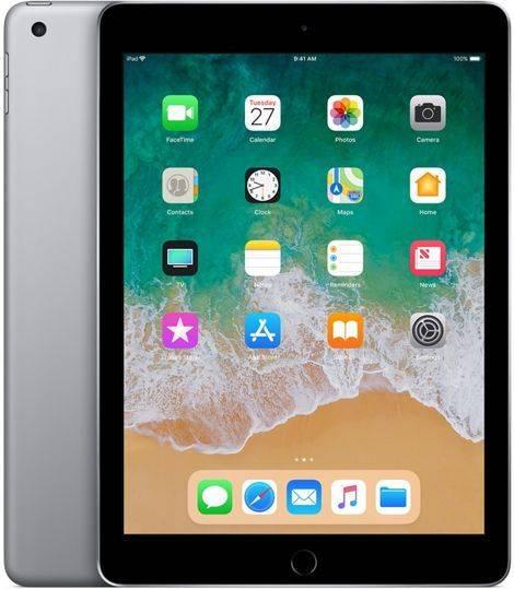 """Планшет 9.7"""" Apple iPad 2018 MR7F2RU/A 32ГБ темно-серый - фото 1"""