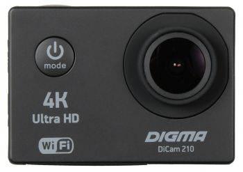 Экшн-камера Digma DiCam 210 черный (DC210)