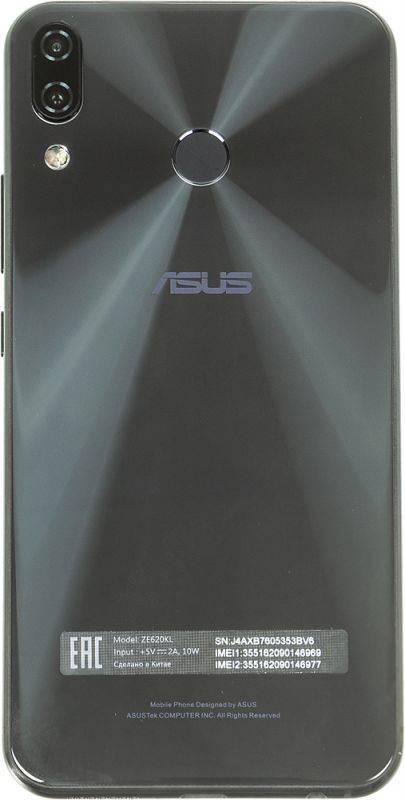 Смартфон Asus Zenfone 5 ZE620KL 64ГБ черный (90AX00Q1-M00180) - фото 2