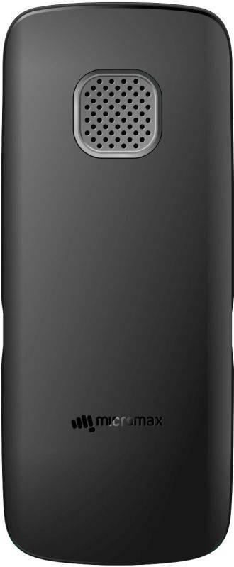 Мобильный телефон Micromax X412 черный/серый (MICROMAX X412 B) - фото 2