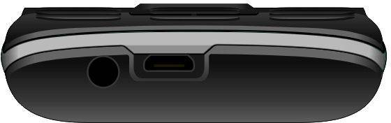Мобильный телефон Micromax X412 черный/серый (MICROMAX X412 B) - фото 4