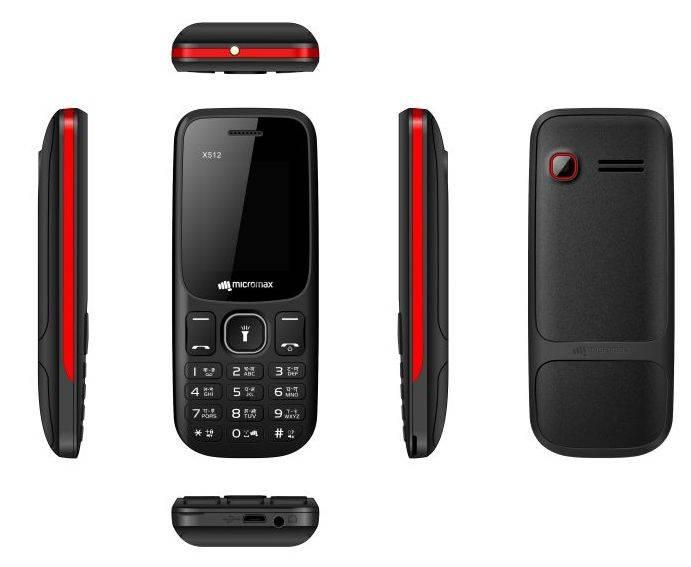 Мобильный телефон Micromax X512 черный (MICROMAX X512 B) - фото 2